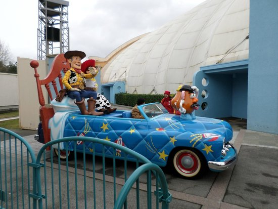 Walt Disney Studios Park: woody and jessie