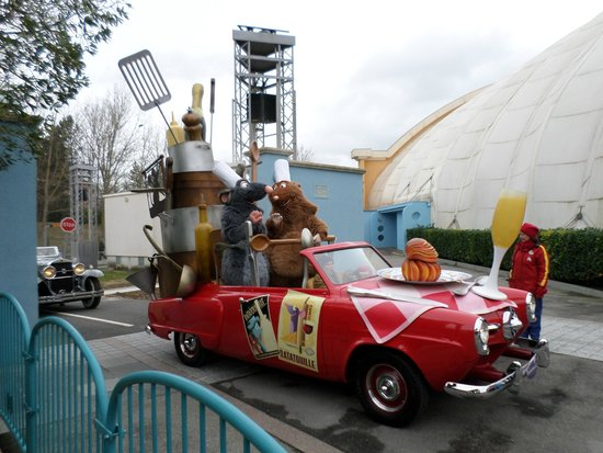 Walt Disney Studios Park: remy