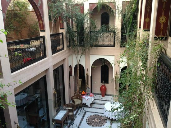 Riad Dar Anika: View from top floor