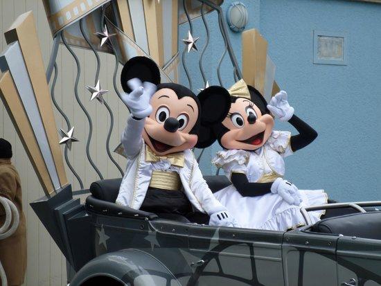 Walt Disney Studios Park: micky and minnie