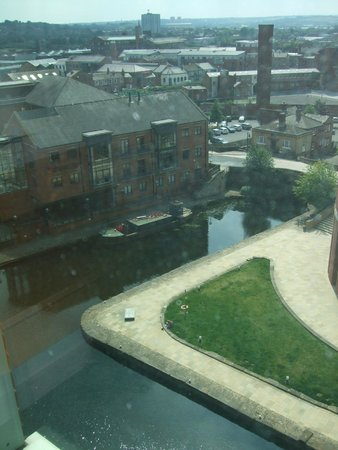 Doubletree by Hilton Hotel Leeds City Centre: View from room 803