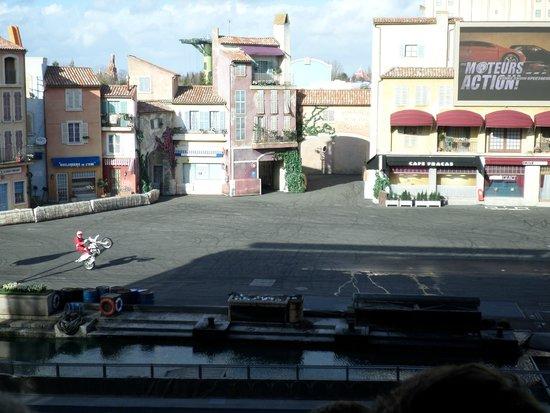 Walt Disney Studios Park: stunt show