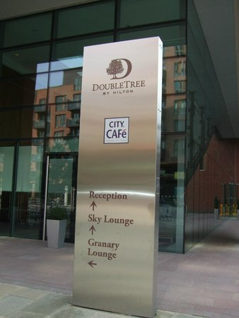 Doubletree by Hilton Hotel Leeds City Centre: You've made it!!