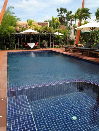 Areca Angkor Boutique : The pool