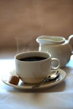 The Slaughters Country Inn: coffee