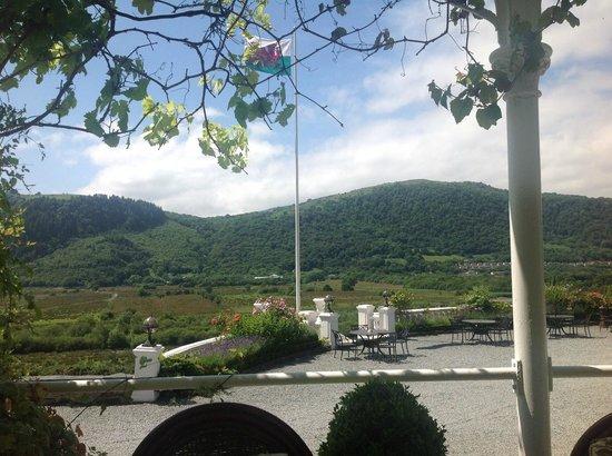 Plas Maenan Country House: From the veranda