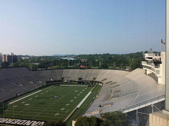 Nashville Marriott at Vanderbilt University : View from the concierge lounge