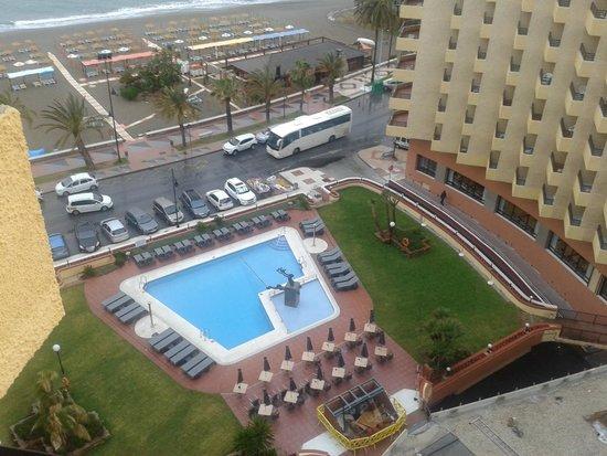 Melia Costa del Sol: вид с балкона