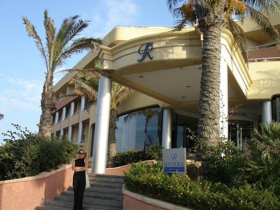 LABRANDA Riviera Premium Resort & Spa : Главный вход в Отель Riviera Resort&Spa