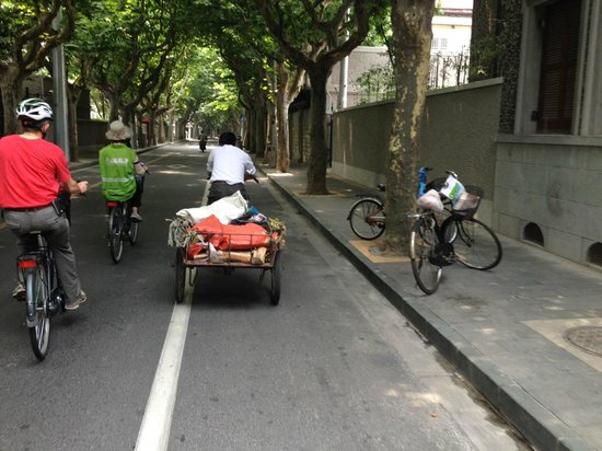 China Cycle Tours: Cycling through the French Concession Area