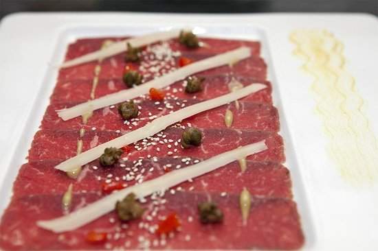The Meat Co: Beef Carpaccio
