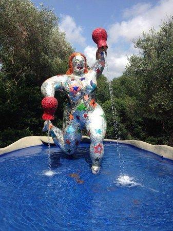 Tarot Garden : scultura