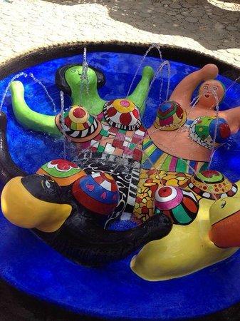 Giardino dei Tarocchi : fontana