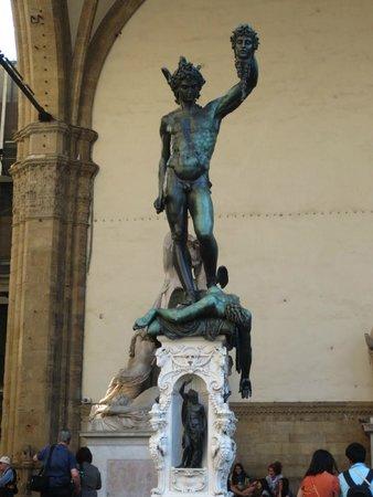 Loggia dei Lanzi: Escultura