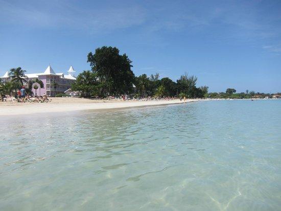 Hotel Riu Palace Tropical Bay : playa