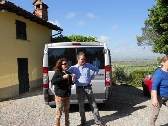 Agriturismo La Maesta : The wonderful hosts