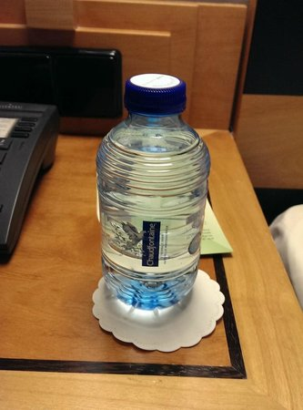 Swissotel Amsterdam : complimentary water
