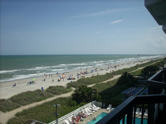 The Reef Myrtle Beach : balcony view