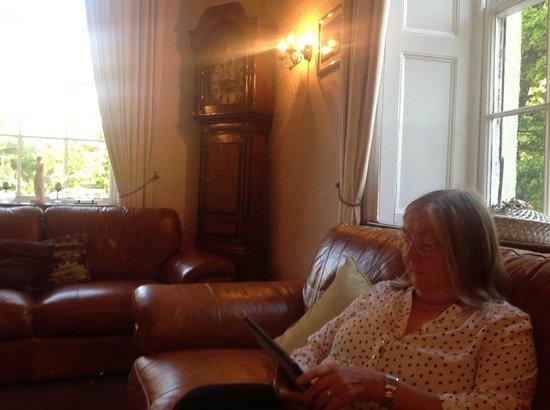 Royal Goat Hotel: Sitting room