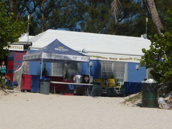 Horseshoe Bay Beach: snack shack