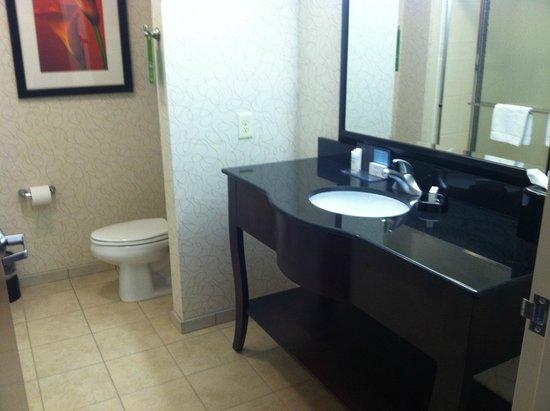 Hampton Inn Richmond-Airport : Very clean bathroom