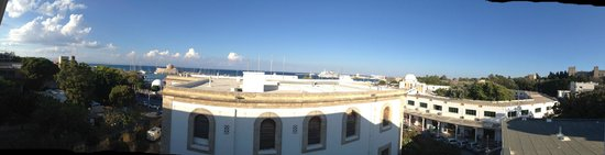 Hermes: panoramic view from room nr 310