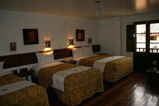Hotel Rumi Punku: Our quad room