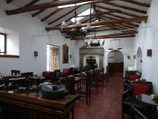 Hotel Rumi Punku: breakfast area