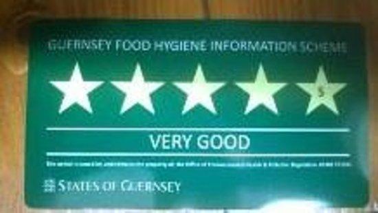 La Lanterna: Food Igene Rating