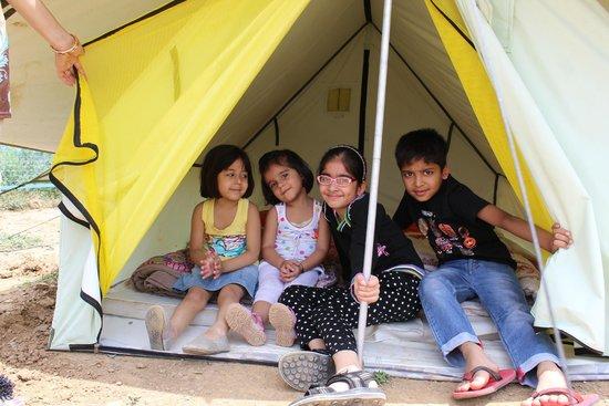 Blue Canvas Resort: Kids Tent