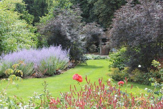 Royal National Rose Society Gardens: View Across One Of The Beds