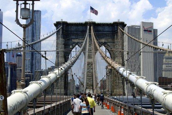 Puente de Brooklyn: Brooklyn bridge 4