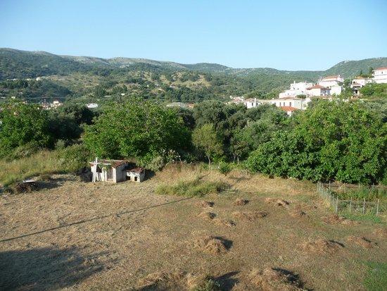 Mourtemeno Hotel: balcony view
