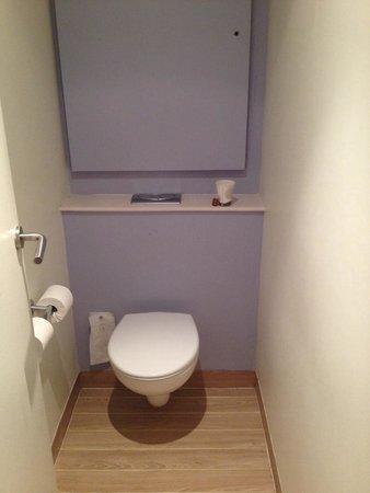 Novotel Paris Centre Tour Eiffel : O vaso sanitário arpado