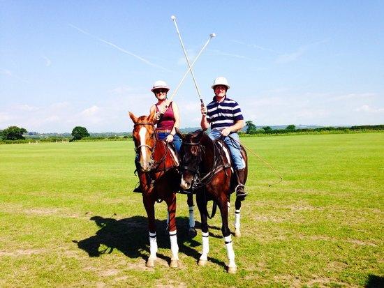J F Polo Academy: Lesson with James