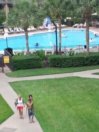 Rosen Inn at Pointe Orlando : Vista do 4º andar