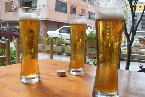 Hotel Albion: Beer!