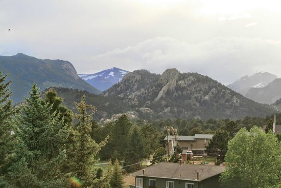 Comfort Inn Estes Park: Rooms with a view!