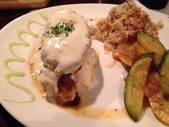 Fibbers On the Water: Stuffed Grouper.