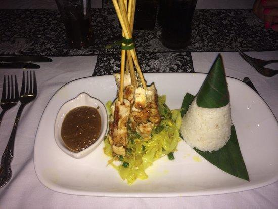 2Day Cafe : Chicken satay