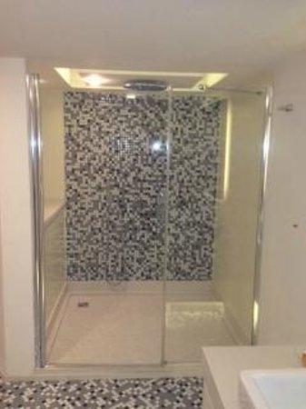 Rixos Taksim Istanbul: the shower cubicle
