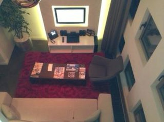 Rixos Taksim Istanbul: view from the top room