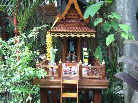 Anantara Rasananda Koh Phangan Villas : spirit house