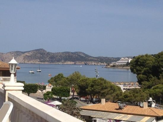 Hotel Bon Repos: view from sun deck
