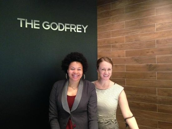 The Godfrey Hotel Chicago: The friendly and efficient front desk ladies.