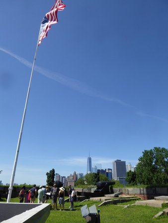 Governors Island National Monument : Some idea of the view from Governor's Island NYC