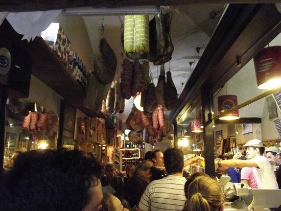 La Prosciutteria Firenze : Interno