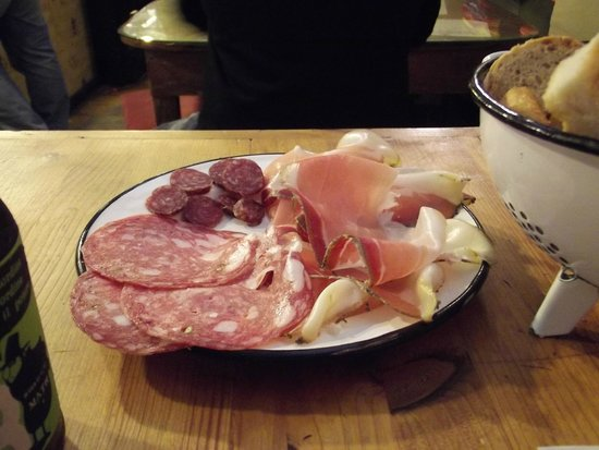 La Prosciutteria Firenze : pranzo