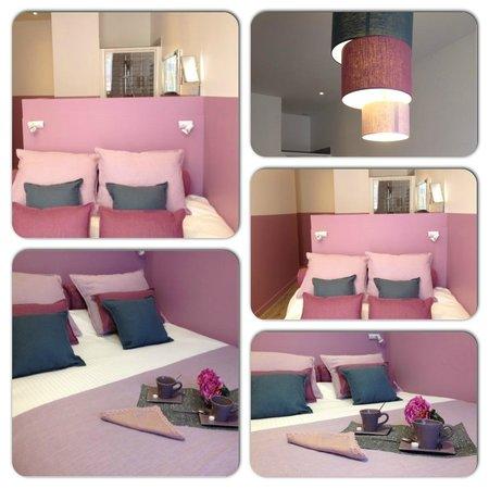 Hotel de la Croix Rousse : Chambre Minou de