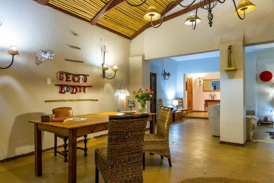 Gecko Lodge: Reception
